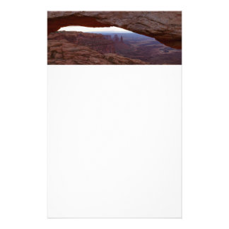 Mesa Arch I from Canyonlands National Park Stationery Paper