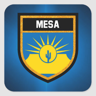 Mesa Flag Square Sticker