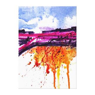 Mesa Purpura Canvas Print