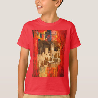 Mesa Verde Adobe Cliffs Southwestern Kids T-Shirt
