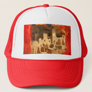 Mesa Verde Adobe Cliffs Southwestern Trucker Hat