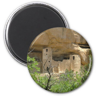 Mesa Verde National Park 6 Cm Round Magnet