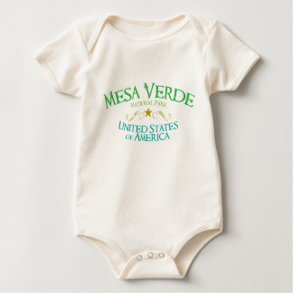 Mesa Verde National Park Baby Bodysuit