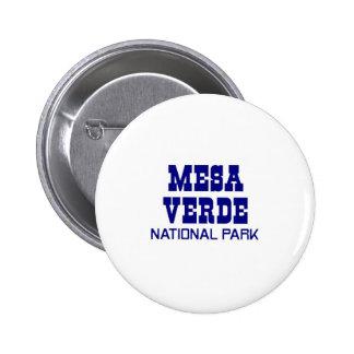 Mesa Verde National Park Pinback Button