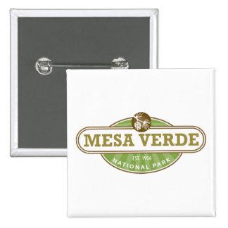 Mesa Verde National Park Pinback Buttons