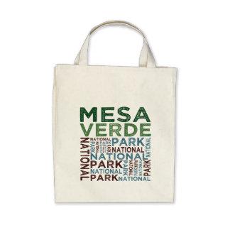 Mesa Verde National Park Tote Bags