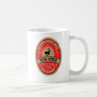 Mesa Verde National Park Basic White Mug