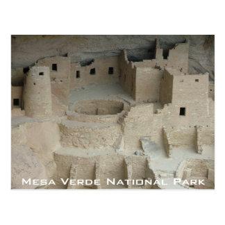 Mesa Verde National Park - Cliff Palace Postcard