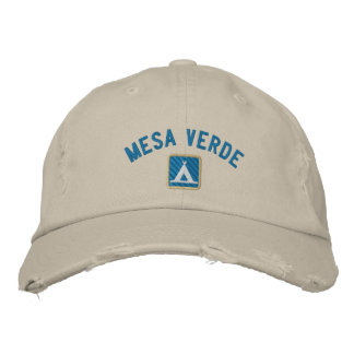 Mesa Verde National Park Embroidered Baseball Caps