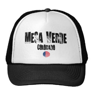 Mesa Verde National Park Mesh Hats