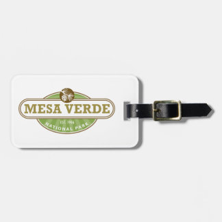 Mesa Verde National Park Tag For Bags