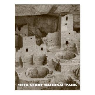 Mesa Verde National Park Post Card
