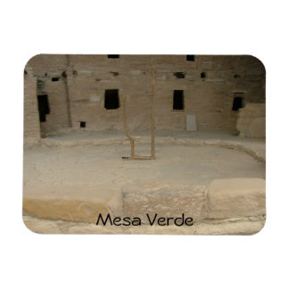 Mesa Verde National Park Rectangular Photo Magnet