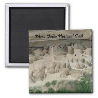 Mesa Verde National Park Square Magnet