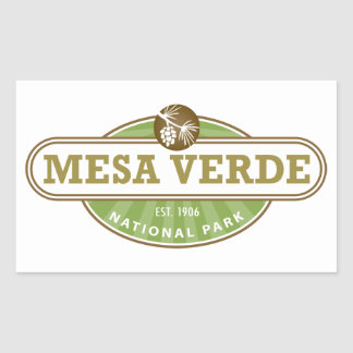 Mesa Verde National Park Rectangle Sticker