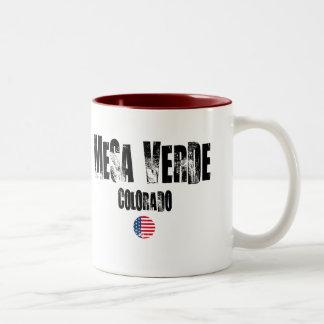 Mesa Verde National Park Two-Tone Mug