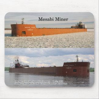 Mesabi Miner mousepad