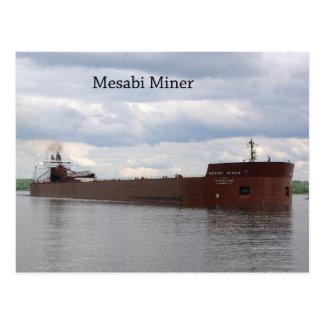 Mesabi Miner post card
