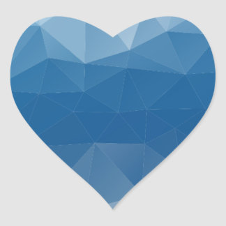 Mesh Heart Sticker