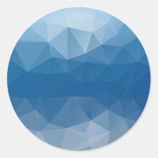 Mesh Round Sticker
