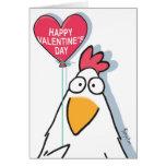 MESMERIZED CHICKEN Valentines by Boynton Greeting Card