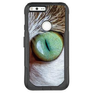 Mesmerizing Green Cat Eye OtterBox Commuter Google Pixel XL Case