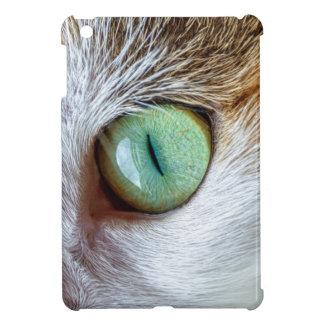 Mesmerizing Green Cat's Eye iPad Mini Cases