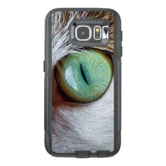 Mesmerizing Green Cat's Eye OtterBox Samsung Galaxy S6 Case