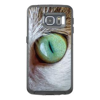 Mesmerizing Green Cat's Eye OtterBox Samsung Galaxy S6 Edge Case