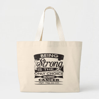 Mesothelioma Strong is The Only Choice Bags