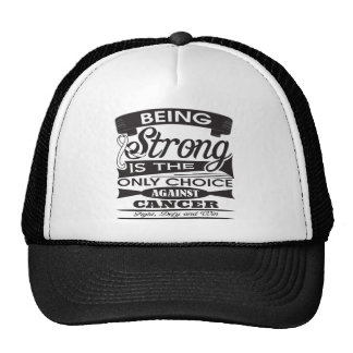 Mesothelioma Strong is The Only Choice Hat
