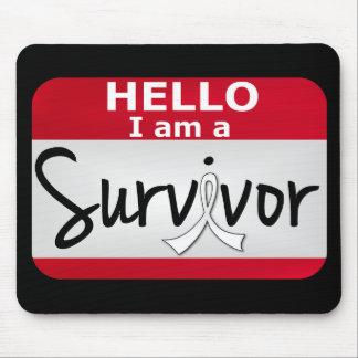Mesothelioma Survivor 24 png Mousepad