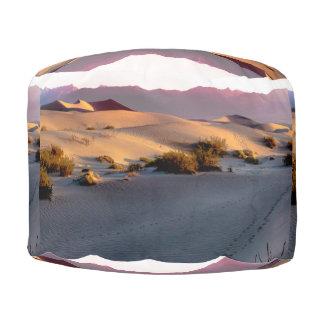 Mesquite Flat sand dunes Death Valley Pouf