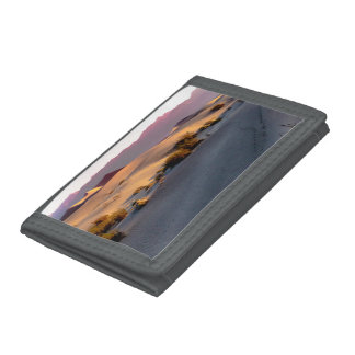 Mesquite Flat sand dunes Death Valley Tri-fold Wallets