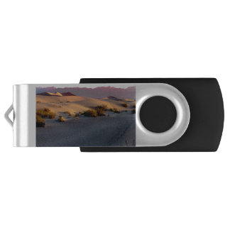 Mesquite Flat sand dunes Death Valley USB Flash Drive
