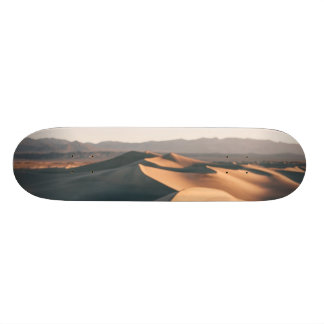 Mesquite Sand Dunes in Death Valley Skate Boards