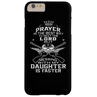 Mess With My Daughter Barely There iPhone 6 Plus Case