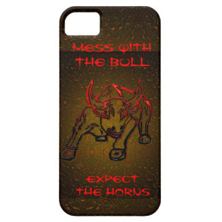 MESS WITH THE BULL EXPECT THE HORNS iPhone 5 CASES