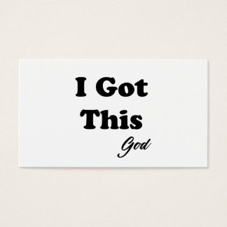 Message From God Business Card