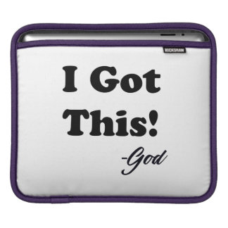 Message From God iPad Sleeve