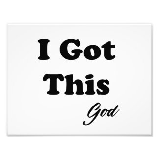 Message From God Photo Print