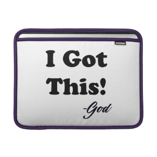 Message From God Sleeve For MacBook Air
