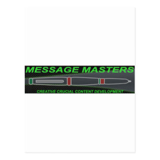 Message Masters Postcard