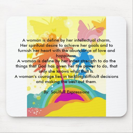 Message on a Note Pad Mousepad
