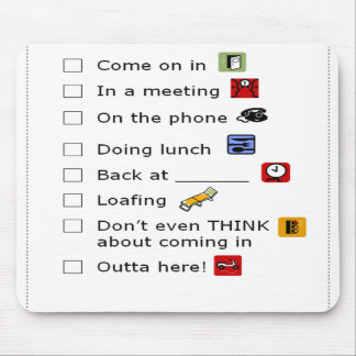 Messages Mouse Pad