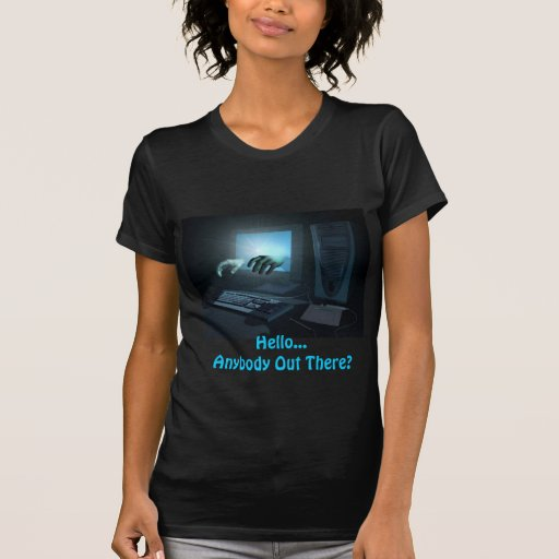 Messege From The Otherside! Ladies Babydoll T Tee Shirts