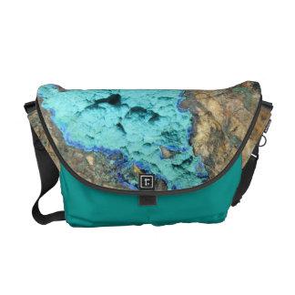 Messenger Bag--Azurite & Malachite Messenger Bag