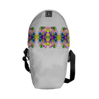 Messenger Bag floral design