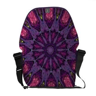 Messenger Bag Flower Mandala