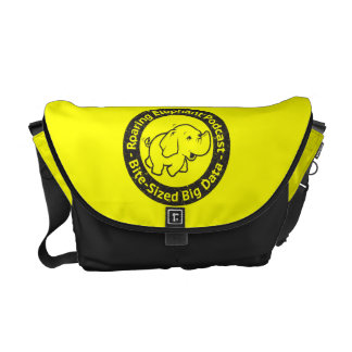 Messenger bag for extrovert Roaring Elephant fans
